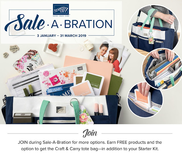 Sale-a-bration Join My Team Stampin Up