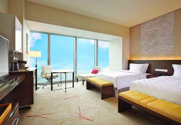 大阪萬豪酒店 Osaka Marriott Miyako Hotel - 豪華雙人房