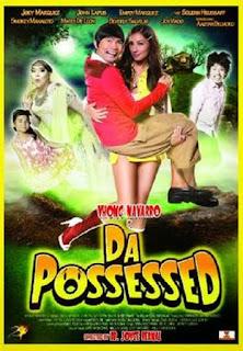 Da Possessed is a Filipino horror, comedy film directed by Joyce Bernal starring Vhong Navarro and Solenn Heussaff.