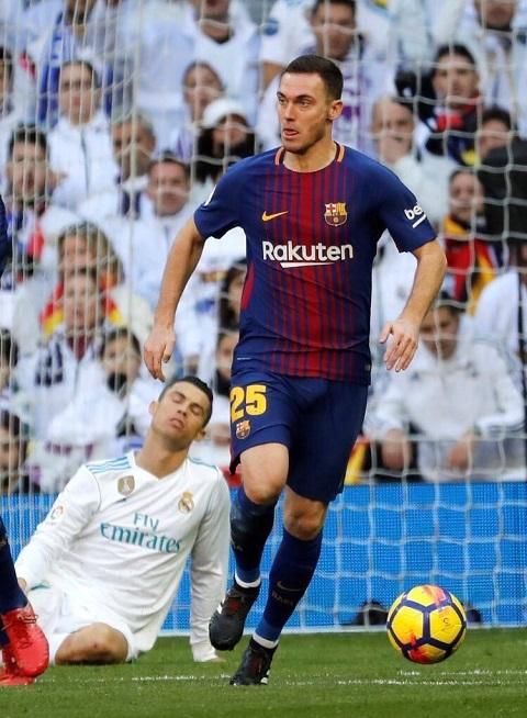 Hậu vệ người Bỉ, Vermaelen trong màu áo Barca