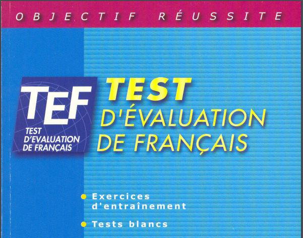 tef test devaluation de français 250 activites pdf