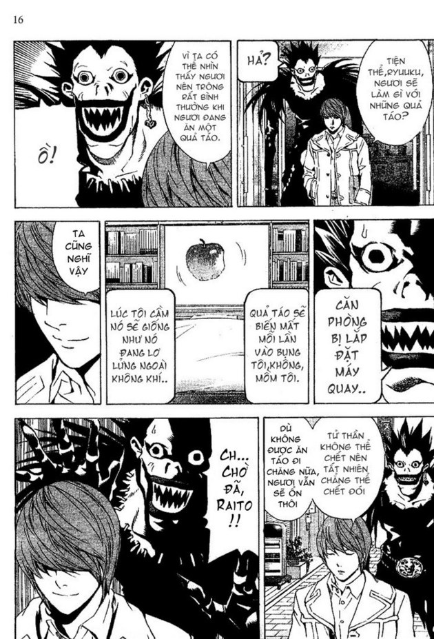 Death Note chapter 016 trang 17