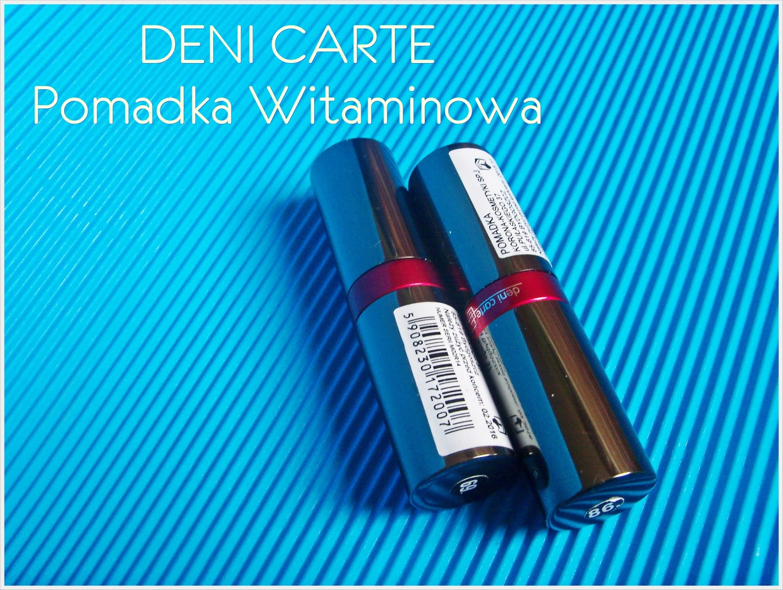 POMADKA WITAMINOWA - DENI CARTE ( 69, 86 )