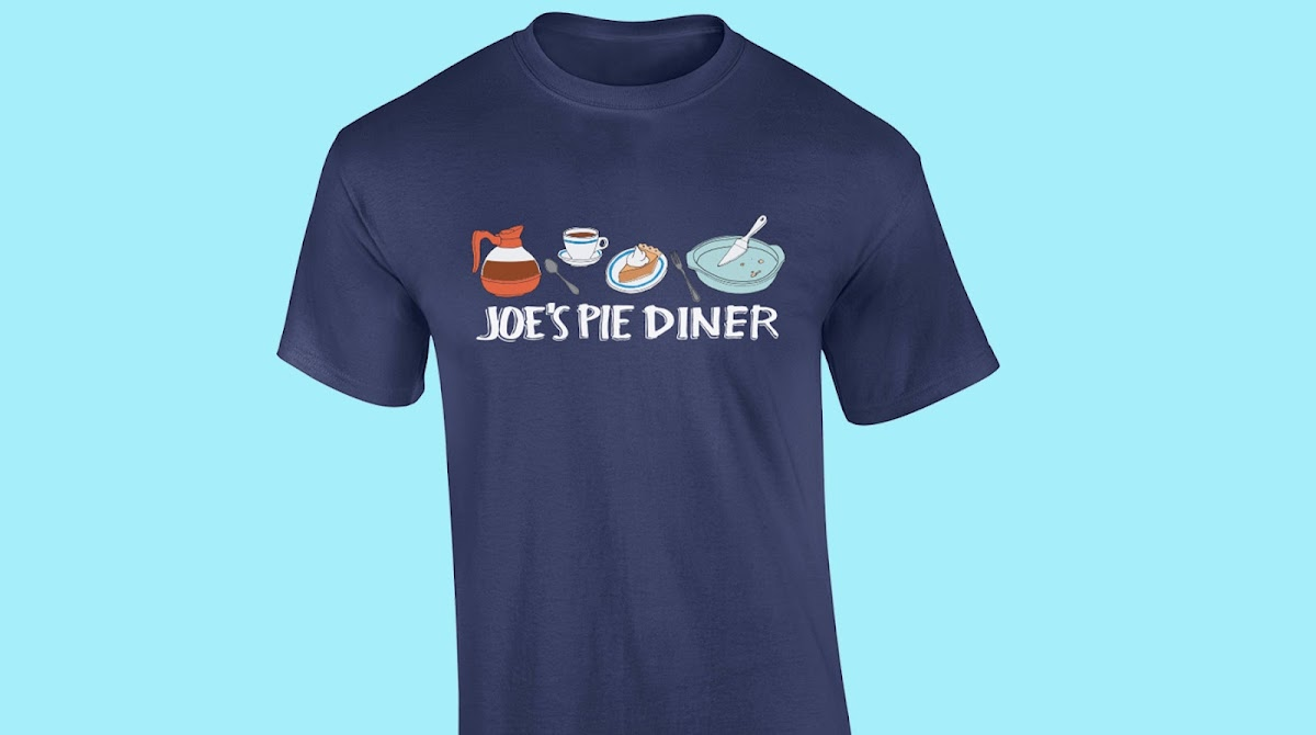 Joe's Pie Diner tee shirt