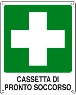 cassetta di pronto soccorso e pacchetto di medicazione