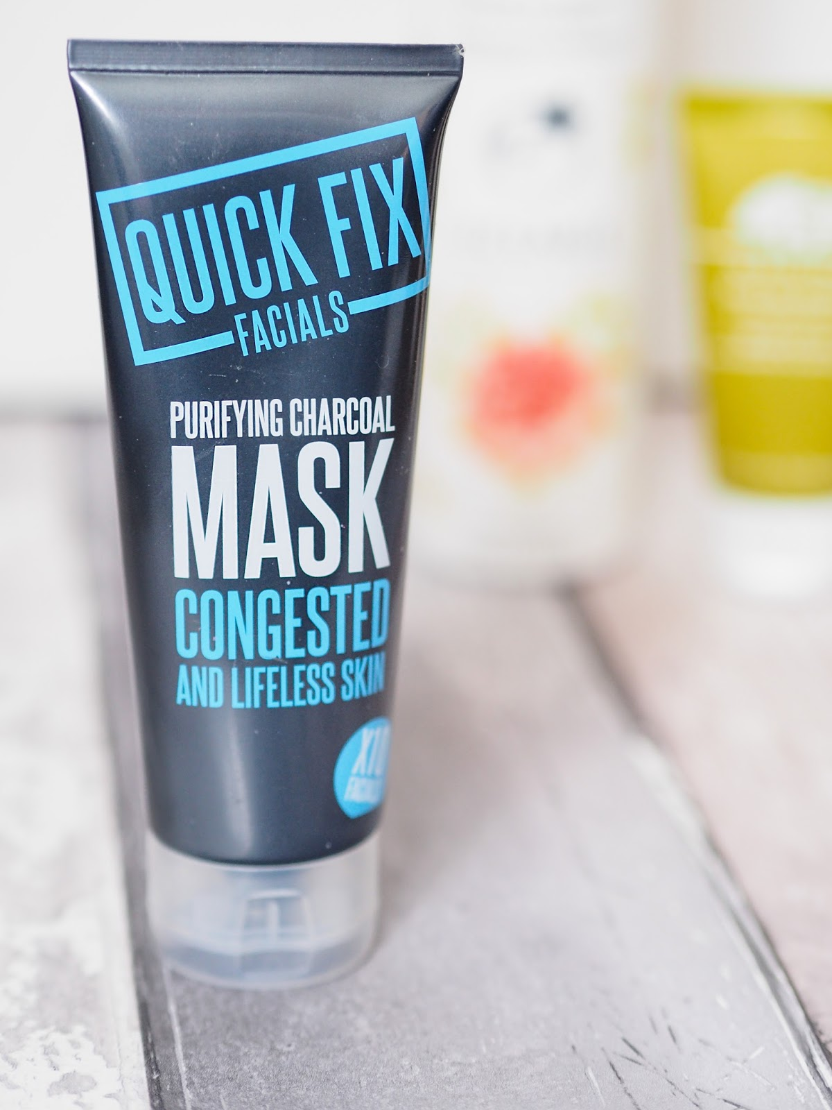 The Skincare Shelf Quick Fix Facials Purifying Charcoal Mask