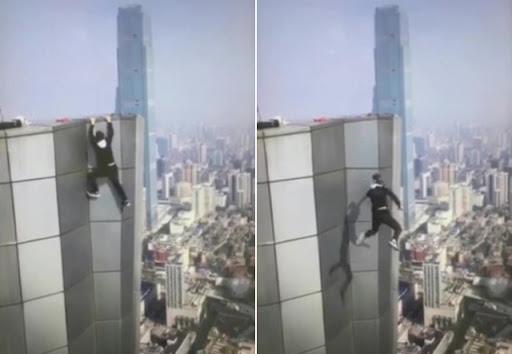 嚇!極限玩家墜樓亡 掙扎20秒影片曝光   中國   新頭殼 Newtalk