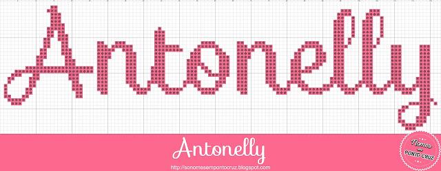 Nome Antonelly em Ponto Cruz