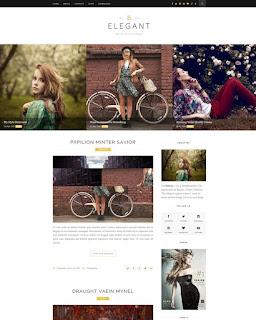Elegant бесплатный шаблон для blogger