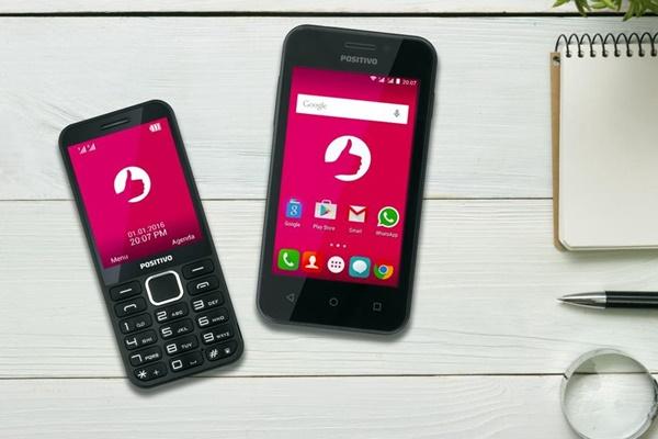 O P28 (à esquerda) e o Positivo One já estão à venda