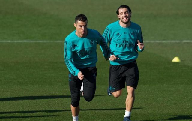 Ronaldo Sudah Berlatih Penuh , Siap Bermain Di El Clasico?