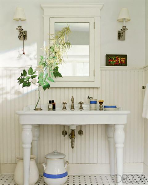 Powder Room Sink: Color Outside The Lines: Powder Room Week : Sinks