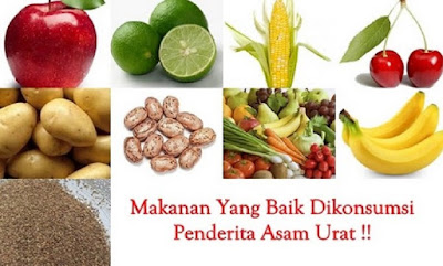 Daftar Makanan untuk Menurunkan Asam Urat