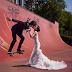 Foto Wedding Keren Dengan Tema Skateboard