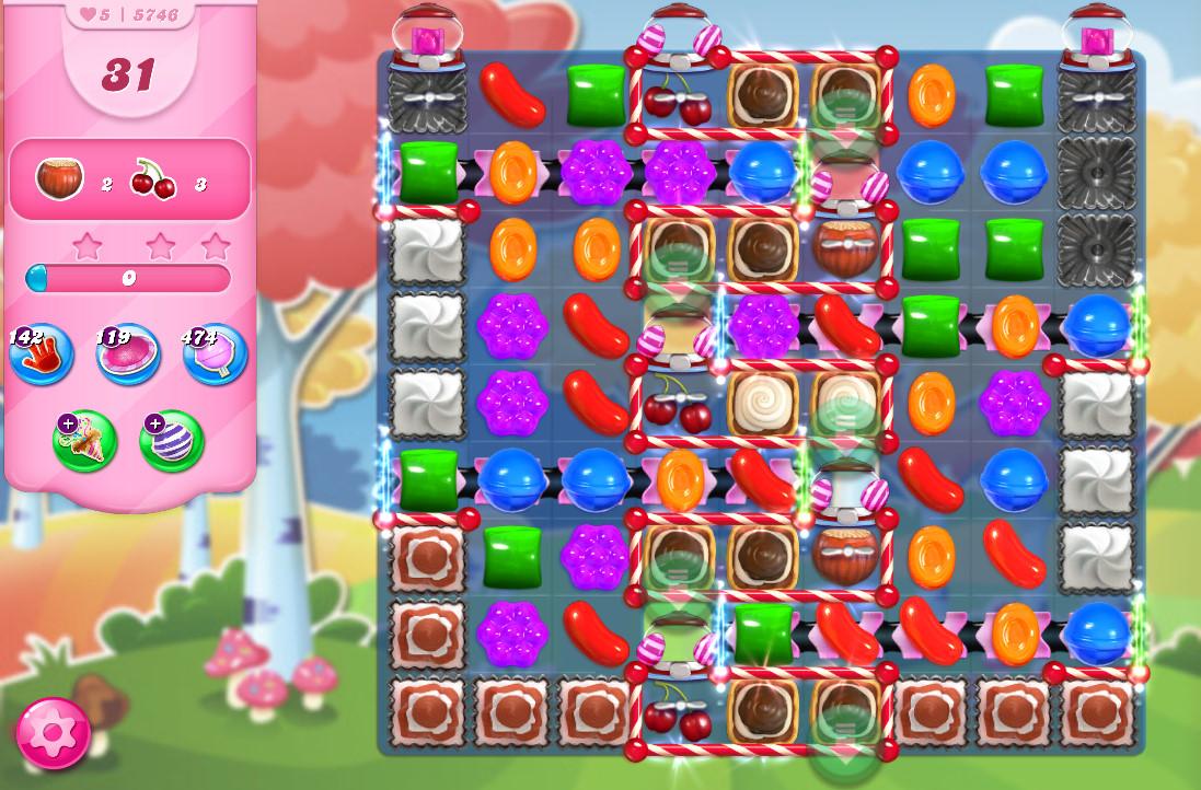 Candy Crush Saga level 5746