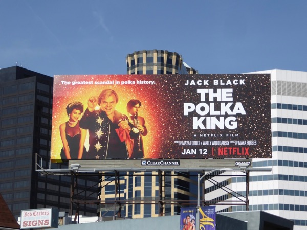 Polka King movie billboard