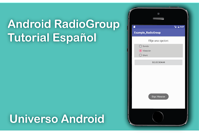 Android RadioGroup Example