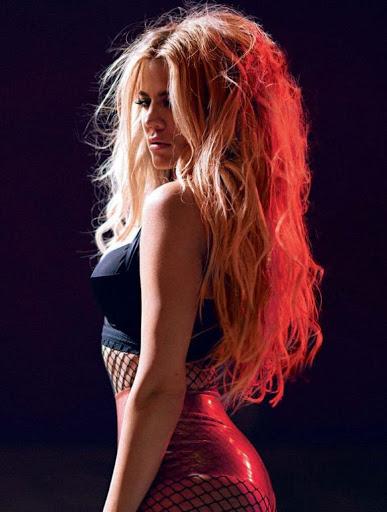 Khloe Kardashian sexy models photo shoot for GQ Magazine Germany