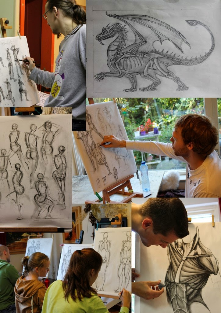 game art opleiding, game art, game art school,anatomie, anatomie tekenen, figuren, HKU, mensen, NHTV, schetsen, tekenen, tekenles, tekenlessen, WDKA,