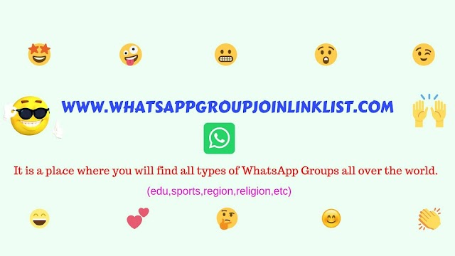 Fresh Daily Updated 1000+ WhatsApp Group Invite Links Collection 2019