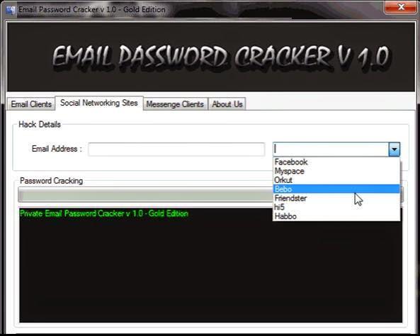 Email password cracker platinum edition rar