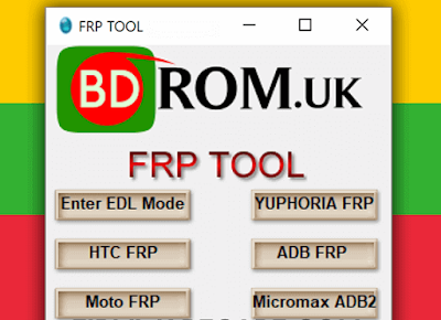Bdrom FRP Tool 2018 free download | All in one frp 2018