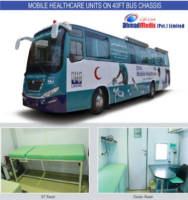 Mobile clinic manufacturer   Ahmad Medix (Life Care)