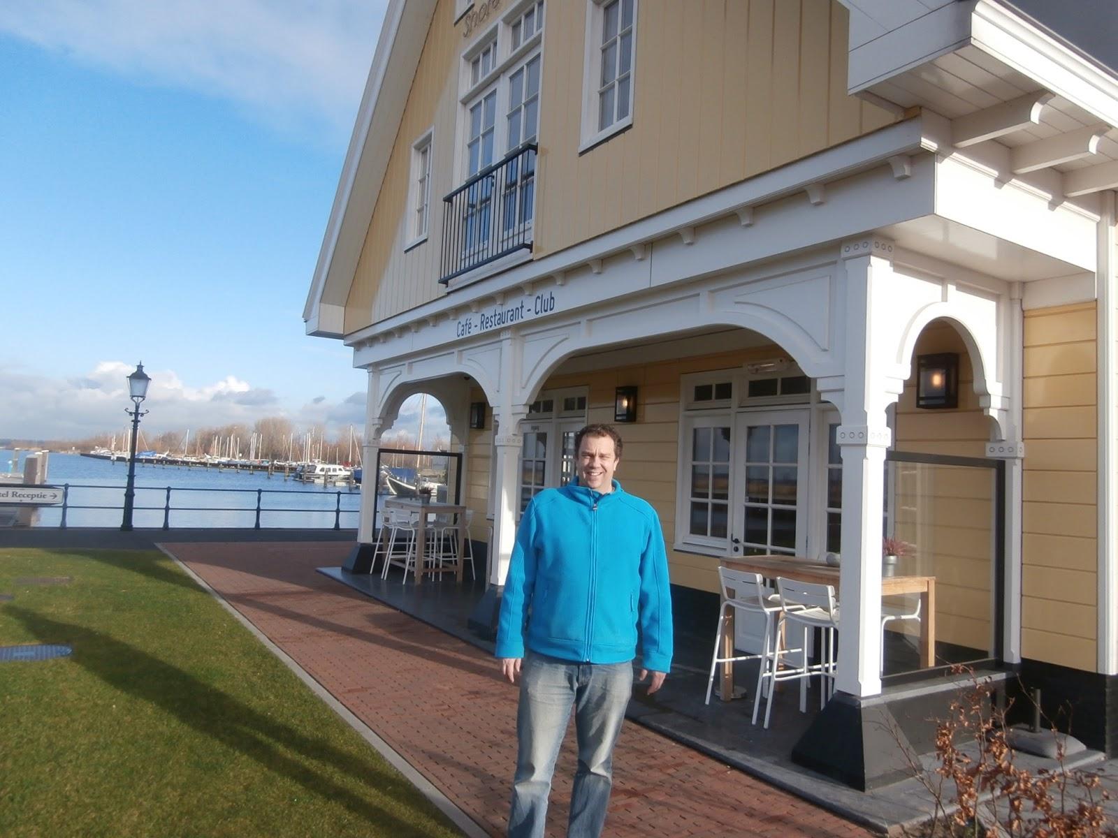 Restaurant Dickens Huizen : Lunch bij shoreclub huizen
