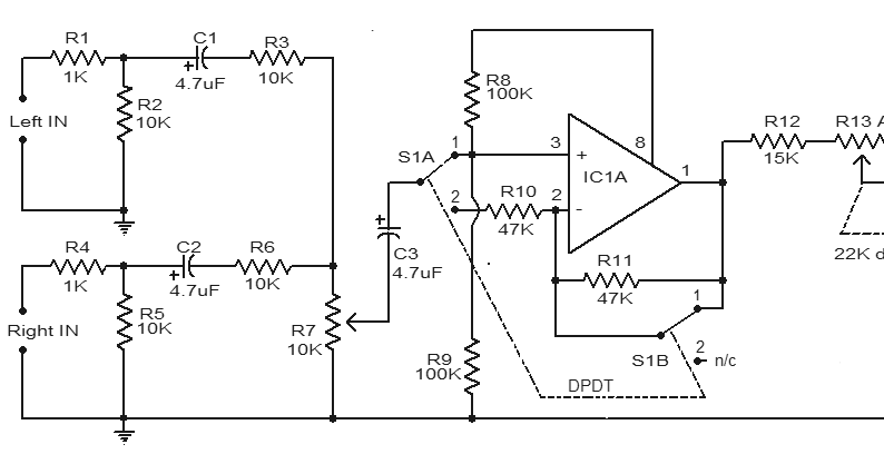 amplifiercircuits com  car subwoofer filter circuit