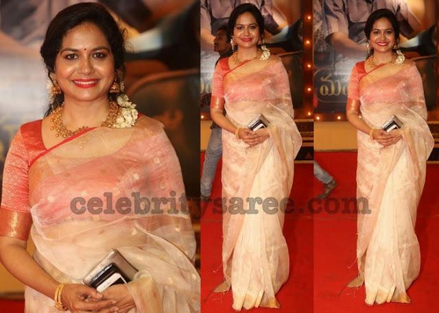 Singer Sunitha at Mahanati Audio Launch