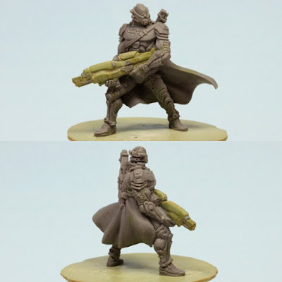 Grimlord Games: Endure the Stars Boardgame Male Marine