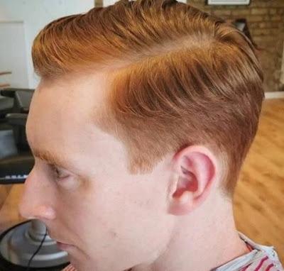 foto rambut pendek pria terbaru semir coklat