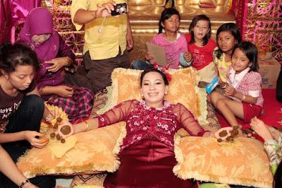 Malam Bohgaca pada Pernikahan Adat Aceh