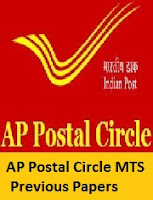 AP Postal Circle MTS Previous Papers