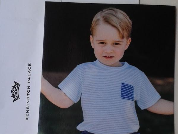 Odpowiedź z Pałacu Kensington na kartkę urodzinową dla George'a!
