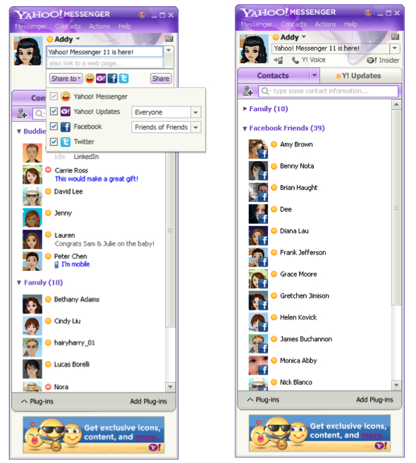 yahoo messenger symbian software