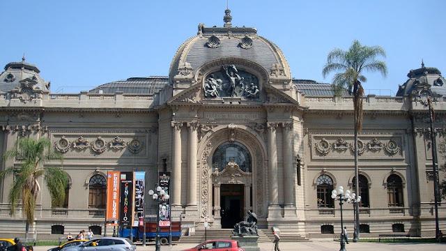 Museu Nacional de Belas Artes em Santiago do Chile