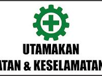Desain Banner Utamakan Kesehatan dan Keselamatan Kerja Simple