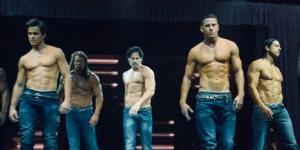 Cuisine and Screen  Magic Mike  XXL Items unfortunately not drawn to scale  Photo Courtesy Cosmopolitan
