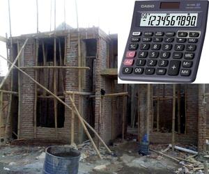 Cara Menghitung Kebutuhan Jumlah Batubata pada Pembangunan