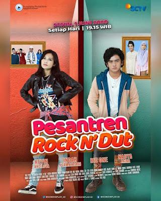 Sahur dan Nayla Poster Pesantren Rock n Dut