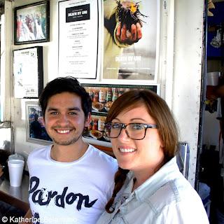 Antonio and Kristin Díaz de Sandi of Club Tengo Hambre