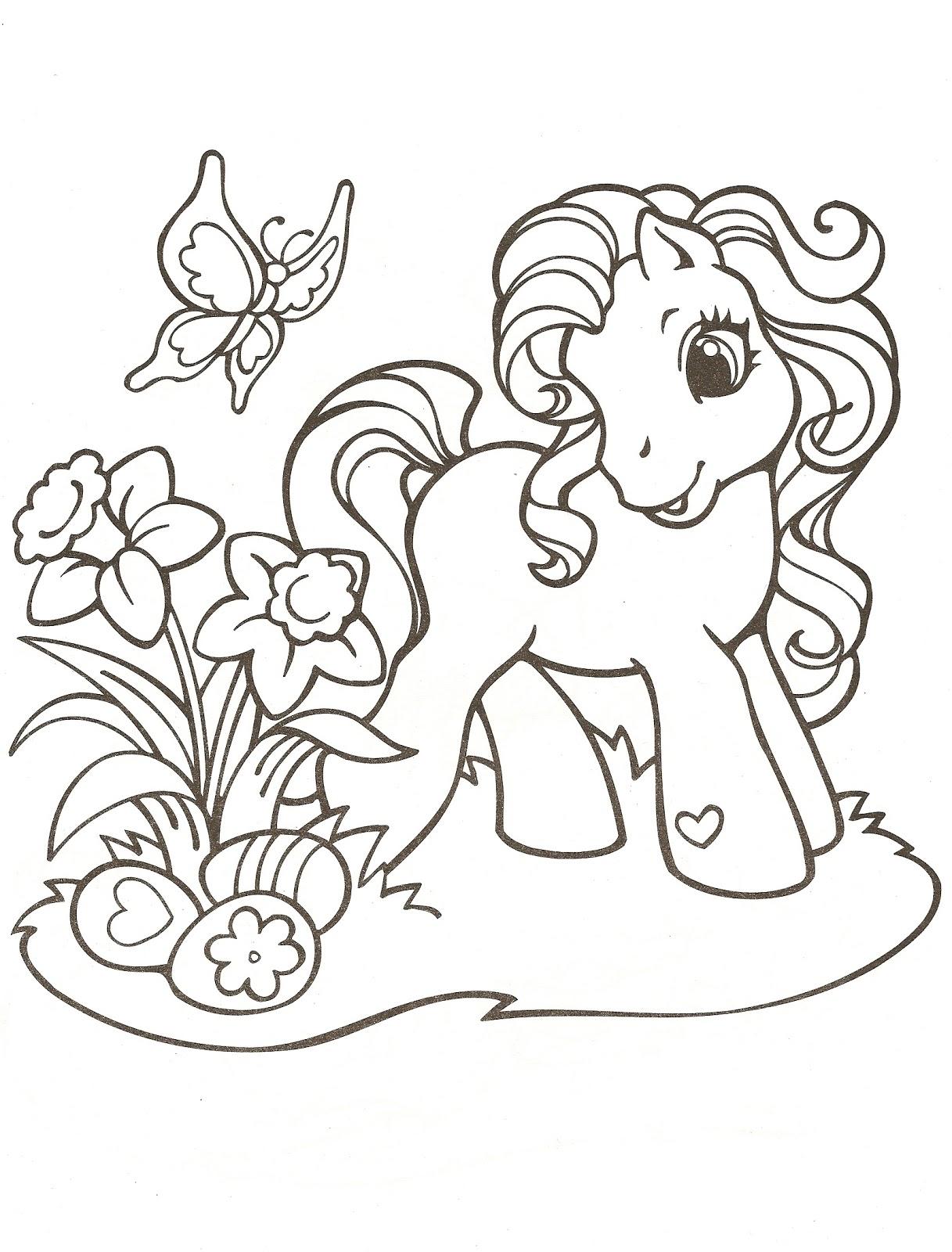 Mi pequeño Pony para colorear Dibujos Para Colorear