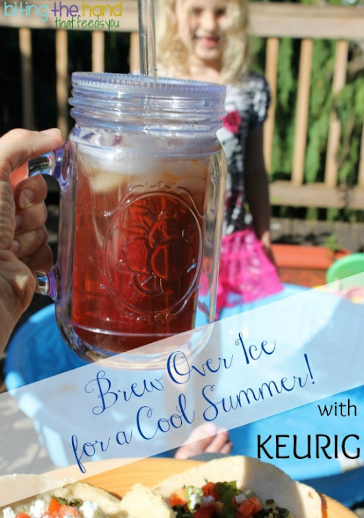 Cooling Off for the Summer with Keurig Brew Over Ice!