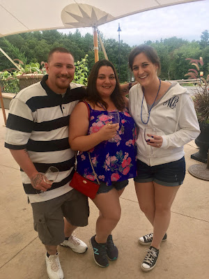 Wine tasting at LaBelle