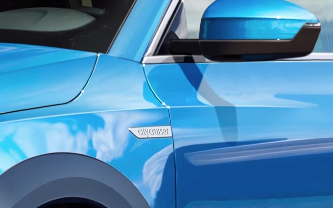 audi q1 foto specchietto retrovisore e dettaglio citycruiser