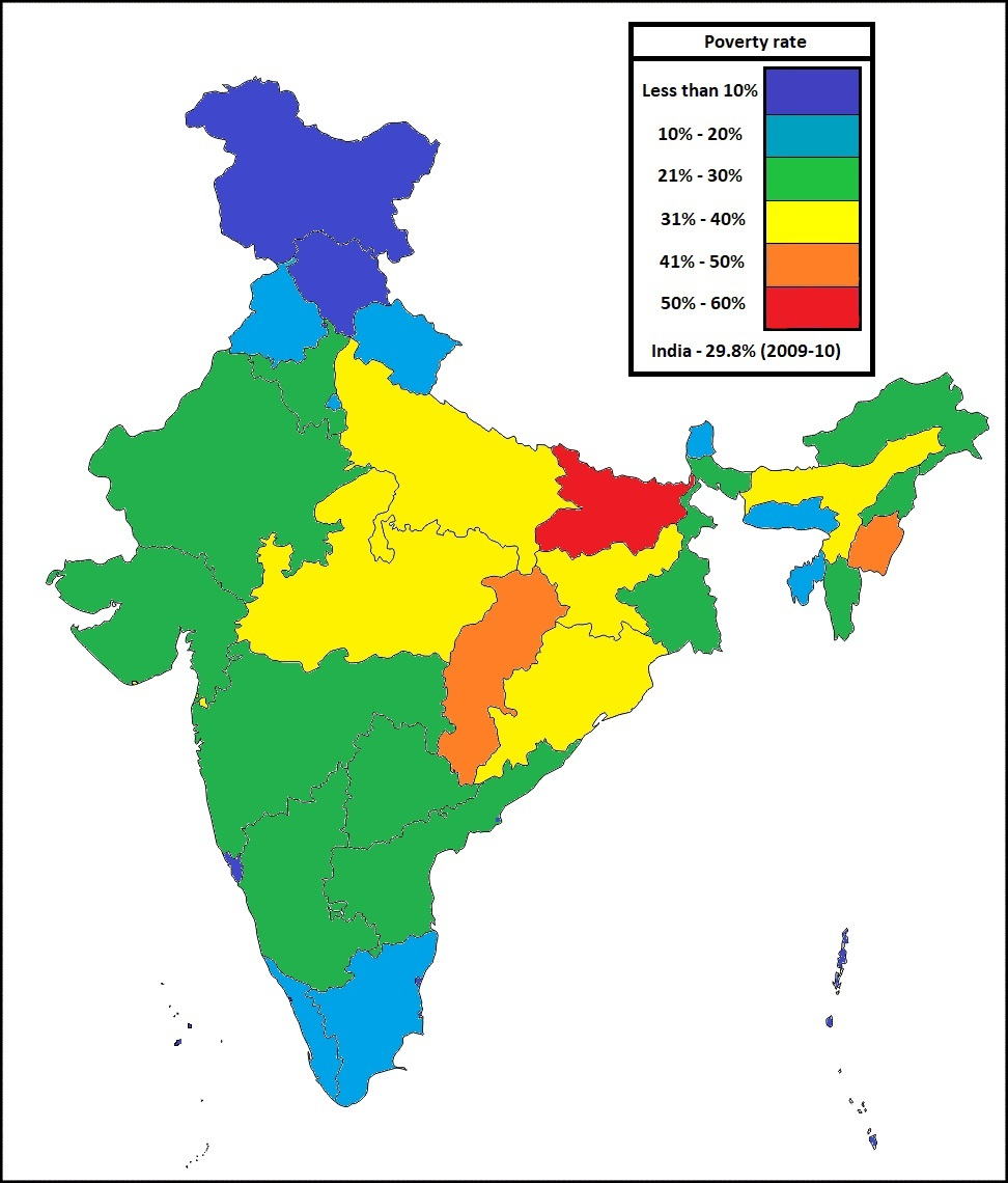 Poverty in India | Maps and International Relations on maharashtra map, cyber world map, bangladesh map, indiana state map, u.s. regions map, indiana county map, tonga map, french regions map, brazil map, saudi arabia map, illinois-indiana map, iran map, india map, state capitals map, european nations map, tamil nadu map, cape of good hope map, andhra pradesh map, indian states and capitals, great britain map,