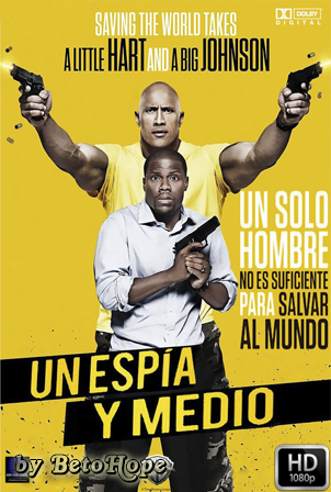 Un Espia y Medio [2016] [Latino-Ingles] HD 1080P [Google Drive] GloboTV