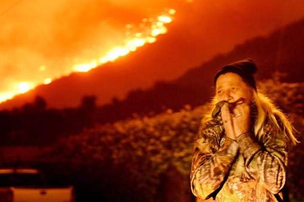 Kebakaran Hebat, Trump Umumkan Keadaan Darurat di California