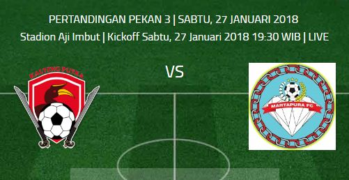 Kalteng Putra FC vs Martapura FC